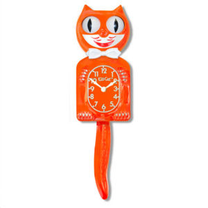 Urban Outfitters Pumpkin Delight Kit-Cat Clock